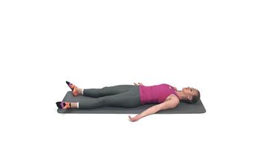 Opuštajući Položaj Na Leđima