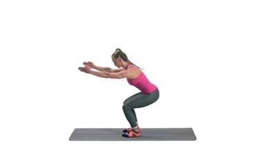 Izdržaj u Pilates Čučnju